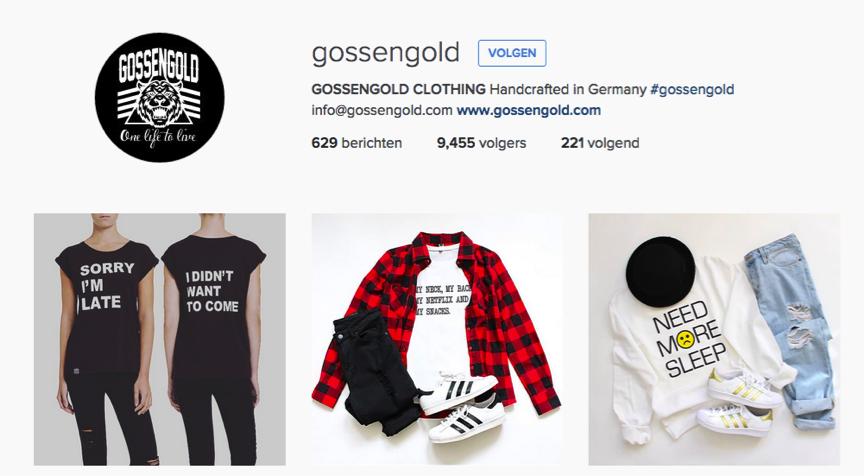 gossengold